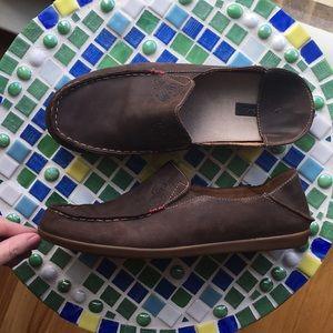 OLUKAI Nohea Nubuck shoes (women's size 9)